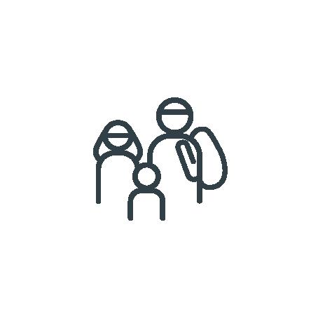 picto Accompagnement d'un programme d'accueil des réfugiés